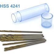 42272 JAS Мини-сверло HSS 4241 титановое покрытие d 1,3 мм 10 шт.