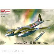 AZ7654 AZModel 1/72 Самолет DH-103 Hornet FR.Mk.4