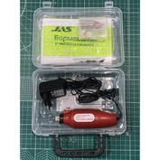 10374 JAS Drill 12 V, 12500 rpm, accessories 15 pre., plastic. box