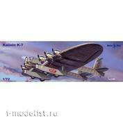 72-015 МикроМир 1/72 Самолет Калинин К-7