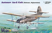48006 Valom 1/48  Antonov An-2 (Vietnam, Afghanistan)