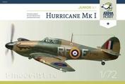70020 ArmaHobby 1/72 Самолет Hurricane Mk I Junior Set