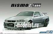 05831 Aoshima 1/24 Nissan Skyline GTR R34 Nismo Z-tune '04