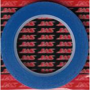 63136 JAS Маскировочная лента, бумага,  4 мм х 18 м