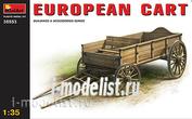 35553 MiniArt 1/35 Европейская телега