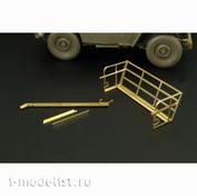 HLU35037 Hauler 1/35 Фототравление для Jeep Willys MB, корзина и резак для проволоки