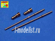 A24 003 Aber 1/24 Set of 2 Barrels German Aircraft 20mm machine guns MG