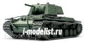 32545 Tamiya 1/48 Советский танк КВ-1 с накладной броней, (3 варианта декалей)