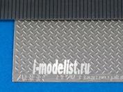 PP20 Aber Фототравление  Engrave plates (Modern type  1x1 strips, 1:24/25 scale)-20