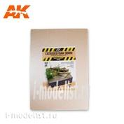 AK8099 AK Interactive EXTRUDED FOAM 30 MM A4 SIZE