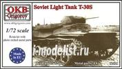 72021 OKB Grigorov 1/72 Soviet Light Tank T-30S