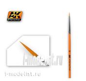 AK601 AK Interactive round Brush ROUND BRUSH 3/0 SYNTHETIC