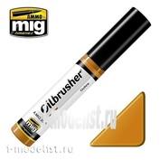 AMIG3515 Ammo Mig OCHRE (Масляная краска с тонкой кистью аппликатором)