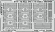 FE1020 Eduard 1/48 Фототравление для Do 217N-1 антенны радара