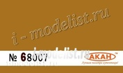 68007 Акан Охра жёлтая стандартная полуглянцевая