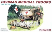 6074 Dragon 1/35 German Medical Troops