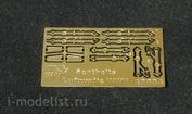 48004 Vmodels 1/48 Фототравление для Seatbelts Luftwaffe WWII
