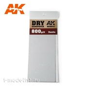 AK9041 AK Interactive Комплект наждачной бумаги 3шт. для сухого шлифования (gr800)