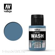 76524 Vallejo Тонирующая жидкость Model Wash Серо-голубой