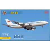 7205 ModelSvit 1/72 Пассажирский лайнер Ил-86 (ограниченная серия)