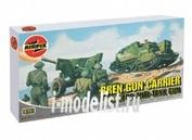 1309 Airfix 1/76 Bren Gun Carrier and 6pdr Anti-Tank Gun
