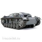 32507 Tamiya 1/48 Sturmgeschutz Iii Ausf.B Немецкое самоходное 75мм орудие, с коротким стволом 1940-1941 г.