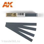 AK9028 AK Interactive Комплект наждачных полос (gr2000) на влажной основе.