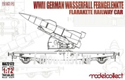 UA72171 Modelcollect 1/72 WWII Germany V1 Missile Railway Car