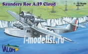 72067 Valom 1/72 Saunders Roe A.29 Cloud (RAF)
