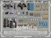 73264 Eduard 1/72 Фототравление для F-4F