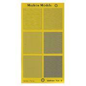 ММ502 Мажор Моделс Шаблон для нарезки маскировочного скотча, тип 3 - квадраты
