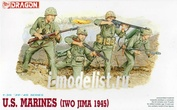 6038 Dragon 1/35 U.S. Marines (Iwo Jima 1945)