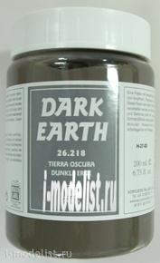 26218 Vallejo Эффекты Паста-Имитатор Темной поверхности 200 мл