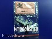 EQG72026 Экипаж 1/72 Резиновые колёса для МuГ-23