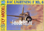 FL146 FLY Model 1/33 BAC LIGHTNING F Mk.6