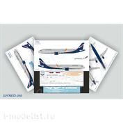321NEO-010 Ascensio 1/144 Декаль на самолёт A321NEO, Аэрофлот Российские Авиалинии