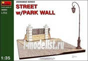 36003 MiniArt 1/35 Улица с парковой оградой