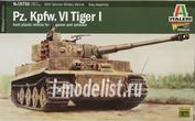15755 Italeri 1/56 Танк Pz.Kpfw. Vi Tiger I