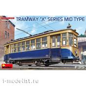 38026 MiniArt 1/35 Tram X-series. Medium type