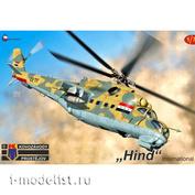KPM0198 Kovozavody Prostejov 1/72 Helicopter Hind International