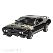 07692 Revell 1/24 Fast & Furious - Dominic's 1971 Plymouth GTX Car