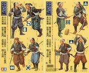 25411 Tamiya 1/35 Самураи (8 фигур.)