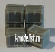ZA72207 Zebrano 1/72 Ящик для выстрелов 37 мм (США), 6шт