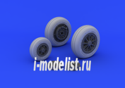 632046 Eduard 1/32 Дополнение к модели F-104 undercarriage wheels late