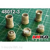 AMG48012-3 Amigo Models 1/48 МiGG-21БИС/МиГ-21-93 Реактивное сопло двигателя Р25-300