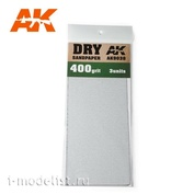 AK9038 AK Interactive Комплект наждачной бумаги 3шт. для сухого шлифования (gr400)