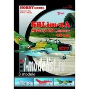 0103 Hobby Model 1/33 SBLim-2A, M.И.Г-15 УТИ, CS-102