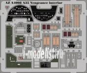 AZA4008 Azmodel 1/48 Фототравление для A35/Vengeance Interior
