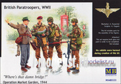 3533 MasterBox 1/35 British Paratroopers, WWII