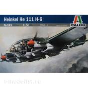121 Italeri 1/72 Самолёт Heinkel He-111 H-6